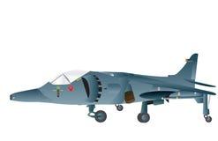 Avion de combat vertical de décollage Images libres de droits