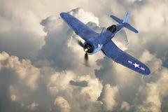 Avion de combat de WWII, guerre, militaire image stock