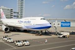 Avion de compagnies aériennes de la Chine photo stock