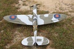 Avion de guerre modèle Photographie stock libre de droits
