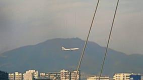 Avion de Hong Kong banque de vidéos
