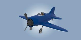 Avion de jouet Photo stock