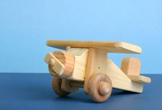 Avion de jouet Images libres de droits