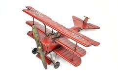 Avion de jouet en métal Images libres de droits