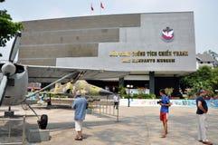 Avion de l'Armée de l'Air d'USA dans le musée de restes de guerre Saigon, Vietna Photographie stock