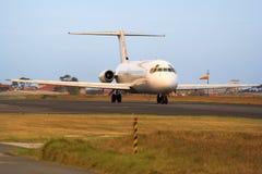 Avion de ligne à réaction de passager Photo libre de droits
