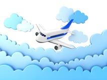 Avion de ligne Photo libre de droits