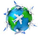 Avion de ligne Image stock