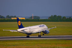 Avion de ligne Image libre de droits
