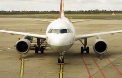 Avion de ligne de Germanwings Image libre de droits