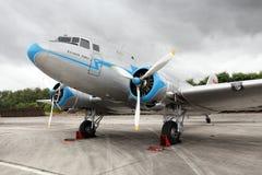Avion de ligne historique. Photo stock