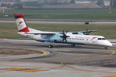 Avion de ligne régionale Photos stock