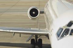 Avion de ligne à réaction de passager Image libre de droits