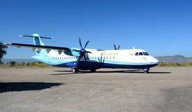 Avion de Mann Yadanarpon à l'aéroport de Heho Banlieue noire de Kalaw Secteur de Taunggyi L'État Shan myanmar Images libres de droits