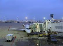 Avion de matin Images stock