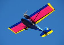 Avion de Microlight Images libres de droits