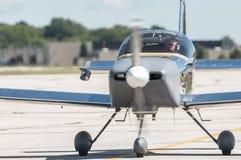 Avion de moteur simple Photo stock