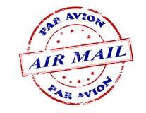 Avion de pair de la poste aérienne Photo libre de droits