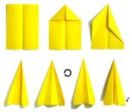 Avion de papier 2 illustration de vecteur
