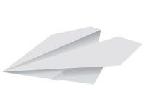 Avion de papier illustration libre de droits