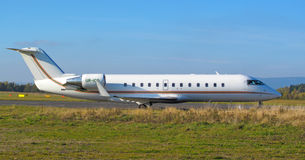 Avion de passager Images libres de droits