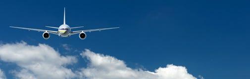 Avion de passagers illustration de vecteur