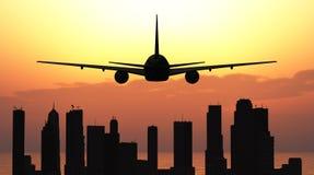 Avion de passagers Images stock