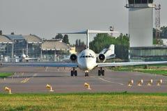 Avion de passagers Image libre de droits