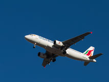 Avion de passagers Airbus A-320, SriLankan Airlines Photo libre de droits