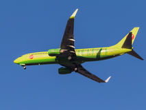 Avion de passagers Boeing 737-800 Photos libres de droits