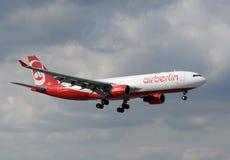 Avion de passagers de Berlin d'air Photo libre de droits