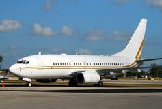 Avion de passagers de Boeing 737 Photos stock