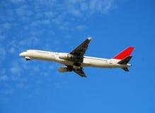 Avion de passagers de Boeing 757 Photos libres de droits