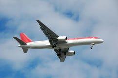 Avion de passagers de Boeing 767 Image libre de droits