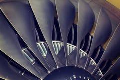 Avion de passagers de moteur à réaction Image libre de droits