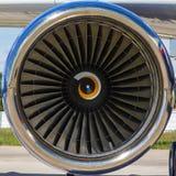 Avion de passagers de moteur à réaction Image stock