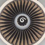 Avion de passagers de moteur à réaction Images libres de droits