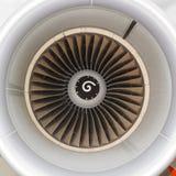 Avion de passagers de moteur à réaction Photos stock