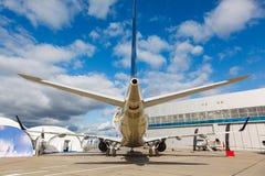 Avion de passagers de réacteur Photos stock