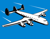 Avion de propulseur illustration stock