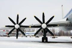 Avion de propulseur Image stock