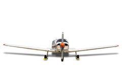 Avion de propulseur sur le blanc Photographie stock libre de droits