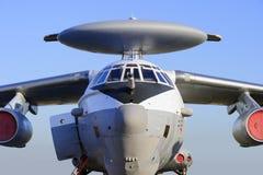 Avion de reconnaissance, avion militaire images libres de droits