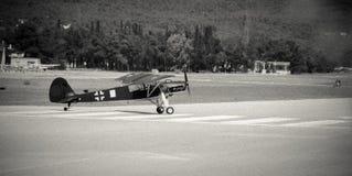 Avion de reconnaissance ww2 image libre de droits