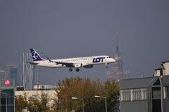 Avion de SORT de PLL Photos libres de droits