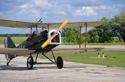 Avion de vintage dans le jour ensoleillé Photo libre de droits