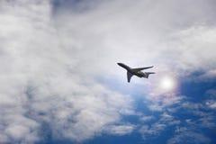 Avion de vol Photographie stock