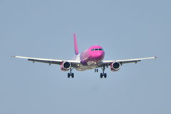 Avion de Wizzair Images stock