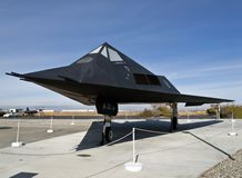 Avion du musée F-117 Photos stock