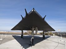 Avion du musée F-117 Image stock